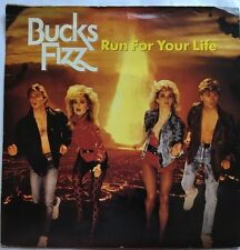 "Bucks Fizz - Run For Your Life - RCA Records Picture Sleeve 7"" Single FIZ 1"
