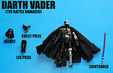 Star Wars The Force Unleashed Battle Damaged Darth Vader Action Figure!