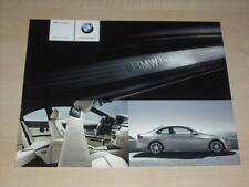 47157) BMW 3er Reihe Coupe individual Prospekt 2008