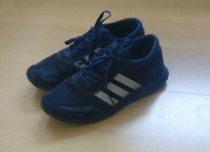 Adidas Los Angeles, blau, blaue Sohle, Herren Sneaker, leichte Gebrauchspuren