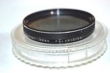 Vivitar 55 mm Polarizing Screw-In Filter with Case Made in Japan (S-117)