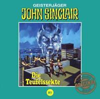 DIE TEUFELSSEKTE - JOHN SINCLAIR TONSTUDIO BRAUN-FOLGE 87   CD NEW