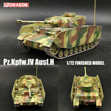 DRAGON WWII GERMAN Pz.Kpfw.IV Ausf.H 1/72 tank model finished non diecast