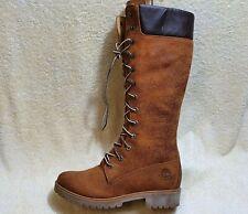 Timberland Premium Waterproof 14-Inch. Ladies Boots NEW Leather Brown UK 7 EUR40
