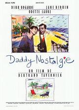 """Affiche 120x160 """"DADDY NOSTALGIE"""" avec Dirk Bogarde, Jane Birkin, Odette Laure"""
