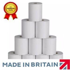 Thermal Paper Till Rolls 80x70mm (Box Of 60 Rolls) Epos Machine Just Eat