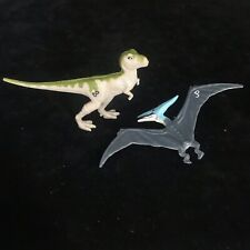 Vintage Jurassic Park Dinosaur Action Figures 1993 Kenner Toy Bundle Baby T-Rex