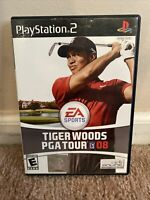 Tiger Woods PGA Tour 08 Sony PlayStation 2 2007 EA Sports Pre-owned
