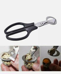 Quail Egg Scissors Cracker Opener Cigar Cutter Stainless Steel Blade