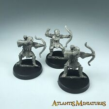 Metal Orc Archers X3 - LOTR / Warhammer / Lord of the Rings X1152