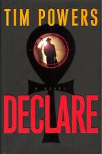 Declare by Anubis Gates Author Tim Powers - Signed First Edition HC in DJ