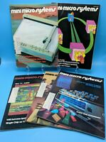 1970s Mini Micro Systems Magazines - Lot of 5 - 1976 - 1978
