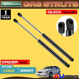 2x For Lexus GS300 GS400 GS430 1998 1999 2000-2004 Bonnet Gas Strut 5344039175