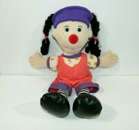 "2002 The Big Comfy Couch Large 21"" Plush LOONETTE Clown Doll Stuffed PBS"