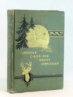 1895 First Annual Report Fisheries Game & Forest Commission New York Fish Plates