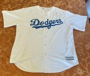 """USED Dodger Jersey """"Bellinger No. 35"""" Majestic Adult XL"""