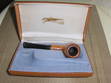 Vintage Longchamp France Leather Covered Bowl Tobacco Pipe