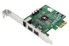 SIIG NN-E38012-S3 3-port FireWire Adapter 9-pin IEEE 1394b External Plug-in Card