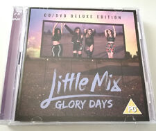 LITTLE MIX - GLORY DAYS (DELUXE EDITION) CD + DVD ALBUM 2016 OTTIMO POP 2 DISCHI