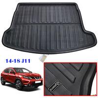 For Nissan Qashqai J11 2014-2019 Trunk Mat Floor Carpet Cargo Tray Boot Liner