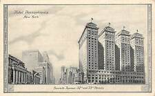 USA New York Hotel Pennsylvania Seventh Avenue 32nd and 33rd Streets