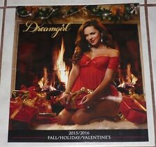 DREAMGIRL 2015/16 FALL/HOLIDAY/VALENTINE's Giant 13x12 Lingerie Catalog 95+pages