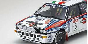 Kyosho 1/18 Lancia Delta HF Integrale 1992 Sanremo # 5 KS08348B Martini Tracking