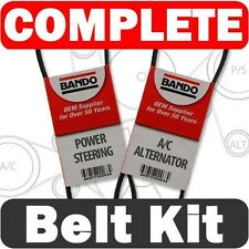 DRIVE BELT Kit fits MITSUBISHI Galant 2.4 1999-2003  ALTERNATOR/AC-POWER STEER