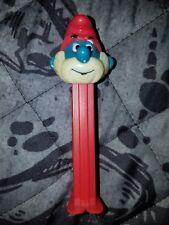 PEZ: 1986 Papa Smurf Red Stick Yugoslavia Vintage