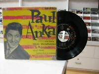 "Paul Anka 7 "" EP Spanisch Red Sails + 3. 1959"