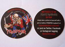 Iron Maiden Trooper Beermat Coaster