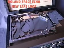 4 ROLAND SPACE ECHO TAPE LOOPS, SHORT: 1 METER RE101, RE201, RE301, RE501 SRE555