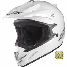 Thermo-Resin Motocross & ATV Plain Motorcycle Helmets