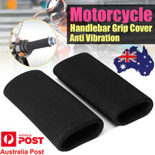 2xMotorcycle Racing Bicycle Foam Anti Vibration Slip-on Handlebar Bar Grip Cover