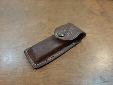 Vintage Case Usa Made Hunting Knife Leather Sheath Only