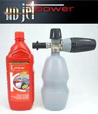 Lance mousse canon à mousse baionnette pour Karcher + 1 L shampoing auto