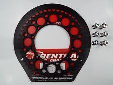 Honda CR125 CR250 CR500 Negro Renthal Piñón Trasero con Pernos Aleación 49