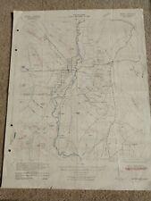 22x29 1942 Usgs Topo Blythe, Arizona California Cibola Ripley Quartzsite Picacho