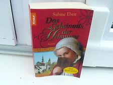 BUCH BESTSELLER DAS GEHEIMNIS DER HEBAMME SABINE EBERT HISTORISCHER ROMAN BOOK !