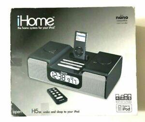 iHome Audio Dock System for iPod/iPhone w/ Clock, Alarm, AM/FM Radio