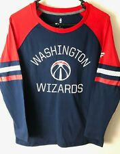 Washington Wizards NBA Fanatics Women's Long Sleeve T-Shirt Medium NWOT