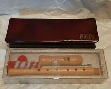 2 Vintage Moeck flutes
