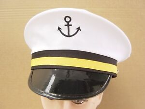 Super Captain Sea Sailor Cap Hat For Navy Skipper Fancy Accessories - Bulk Sales