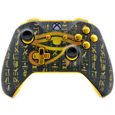 """""""Seeing Eye Gold"""" Xbox One S Rapid Fire Modded Controller 40 Mods SHOOTER GAMES"""