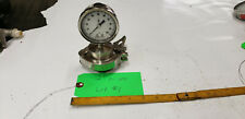 "Ashcroft 2-1/2"" Diaphragm w/ 2"" Reducer 0-100 PSI Stainless Sanitary Gauge lot#1"