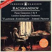 Rachmaninov: Piano Concertos no 3 and 4. Ashkenazy / Previn CD, 1998
