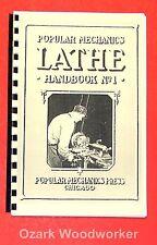 Popular Mechanics Lathe Handbook No.1 0507