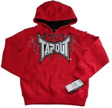 TAPOUT SWEATSHIRT HOODIE FLEECE BOYS 5 BLOOD RED NEW