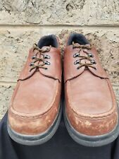 Men's Brown Leather RED WING #6659 Steel Toe Work Safety Boots Size 13 USA Made