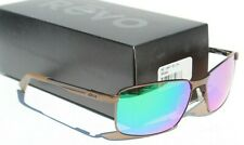 REVO Knox Sunglasses POLARIZED Brown/Green Water NEW RE1047